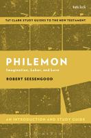 Philemon  An Introduction and Study Guide PDF