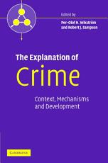 The Explanation of Crime PDF