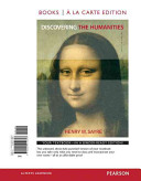 Discovering the Humanities  Books a la Carte Edition Book