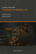 Glanville Williams Textbook of Criminal Law PDF