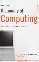 Dictionary of Computing PDF