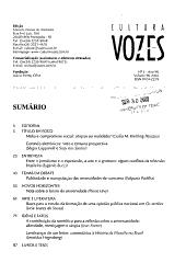 Cultura vozes PDF