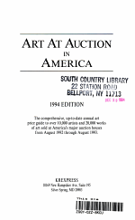 Art at Auction in America