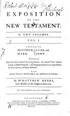 An Exposition of the New Testament PDF