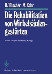Die Rehabilitation von Wirbelsäulengestörten: Ausgabe 2