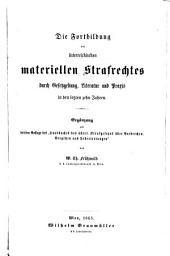 Die Fortbildung des österreichischen materiellen Strafrechtes (etc.): Band 3