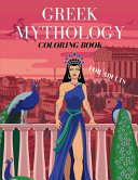 Greek Mythology Coloring Book For Adults