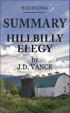 Summary: Hillbilly Elegy by J.D. Vance