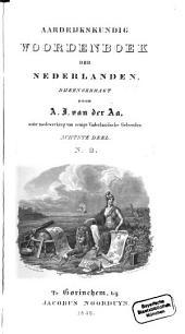 Aardrijkskundig Woordenboek der Nederlanden: N. O.