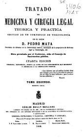 Tratado de medicina y cirugia legal teórica y práctica, seguido de un compendio de toxicología: Medicina legal, Volumen 2,Parte 1