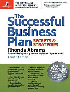 The Successful Business Plan Book