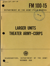 Larger Units  Theater Army corps PDF