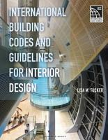 International Building Codes and Guidelines for Interior Design PDF