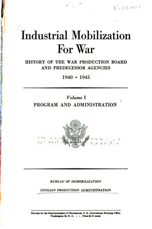 Historical Reports on War Administration PDF