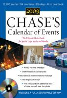 Chase s Calendar of Events 2009 PDF