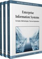 Enterprise Information Systems  Concepts  Methodologies  Tools and Applications PDF
