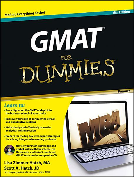 Gmat For Dummies With Cd