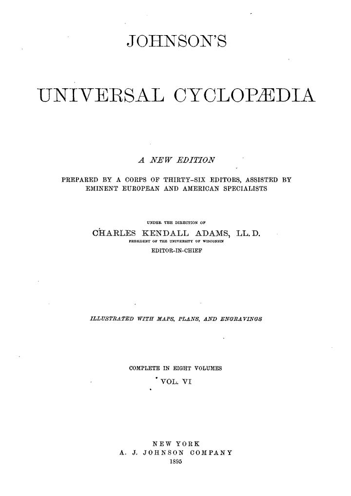 Johnson's Universal Cyclop:dia