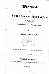 Wörterbuch der deutschen Sprache: in Beziehung auf Abstammung und Begriffsbildung