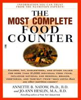 The Most Complete Food Counter PDF