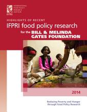 Highlights of recent IFPRI food policy research in Ethiopia 2014