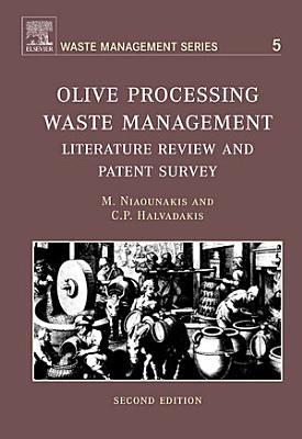 Olive Processing Waste Management PDF
