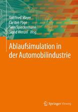 Ablaufsimulation in der Automobilindustrie PDF