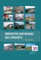 Innovative Earthquake Soil Dynamics PDF
