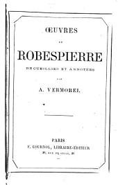 Œuvres de Robespierre