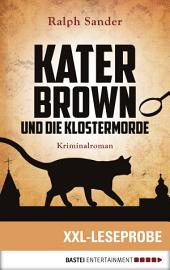XXL-Leseprobe: Kater Brown und die Klostermorde: Kriminalroman