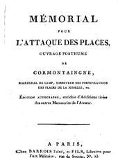 Mémorial pour l'Attaque des Places
