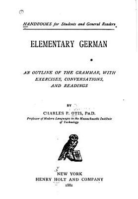 Elementary German PDF