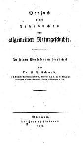 K. L. Schwabs Versuch eines Lehrbuches der allgemeinen Naturgeschichte