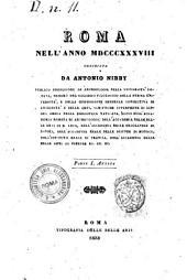 Roma nell'anno 1838: 1 :Parte 1. Antica, Volume 1