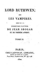 Lord Ruthwen: ou, Les vampires, Volume2