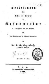 Der evangelische Protestantismus in seiner geschichtlichen Entwicklung: Band 1