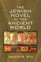 The Jewish Novel in the Ancient World PDF