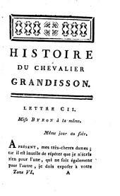 Nouvelles lettres angloises, ou Histoire du chevalier Grandisson, 6: Volume4