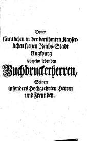 Der so nöthig als nützliche Buchdruckerkunst und Schriftgiesserey: Zweyter Theil ...