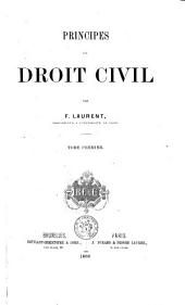 Principes de droit civil: Volume 1
