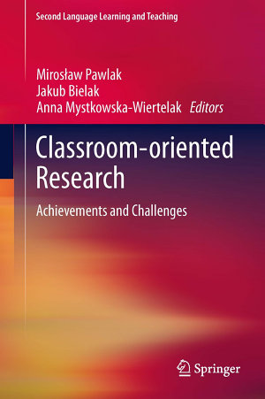 Classroom oriented Research