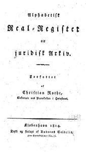 Juridisk arkiv