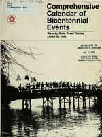 Comprehensive Calendar of Bicentennial Events