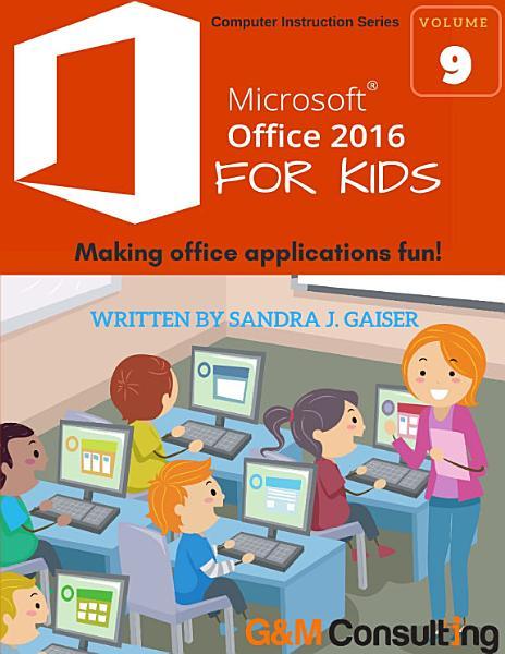 Microsoft Office 2016 for Kids PDF
