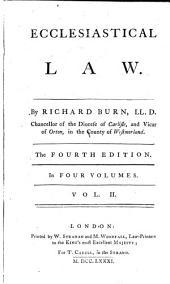 Ecclesiastical Law: In Four Volumes, Volume 2