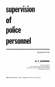 Supervision of Police Personnel PDF