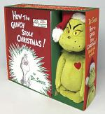 How the Grinch Stole Christmas! Book and Grinch
