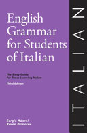 English Grammar for Students of Italian PDF