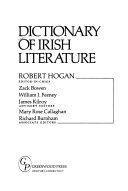 Dictionary of Irish Literature PDF