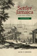 Settler Jamaica in the 1750s PDF